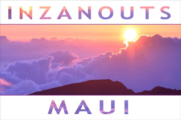 INZANOUTS Maui, HI (Hardcopy - FREE SHIPPING)