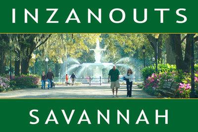 INZANOUTS Savannah, GA (Hardcopy - FREE SHIPPING)