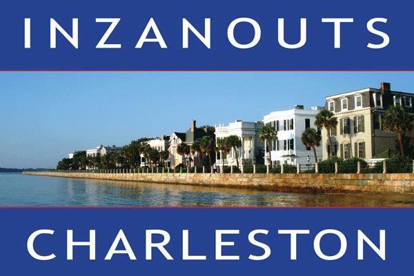 INZANOUTS Charleston, SC (Hardcopy - FREE SHIPPING)