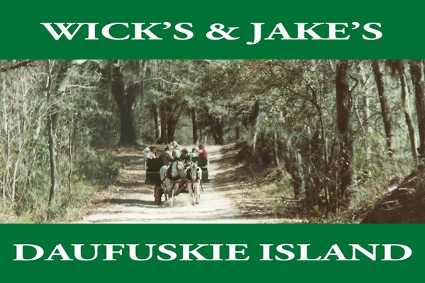 Wick's & Jake's Daufuskie Island (Hardcopy - FREE SHIPPING)