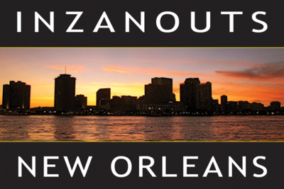 INZANOUTS New Orleans, LA (Hardcopy - FREE SHIPPING)