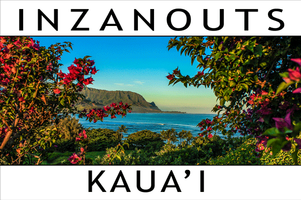 INZANOUTS Kaua'i, HI (Hardcopy - FREE SHIPPING)