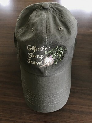 Gilfeather Turnip Festival Cap VERMONT shipping incl.