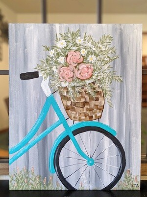 Sip & Paint Night August 12th 6:15pm-8:45pm