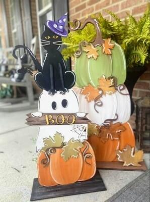 Craft Night: Pumpkin Stack Edition