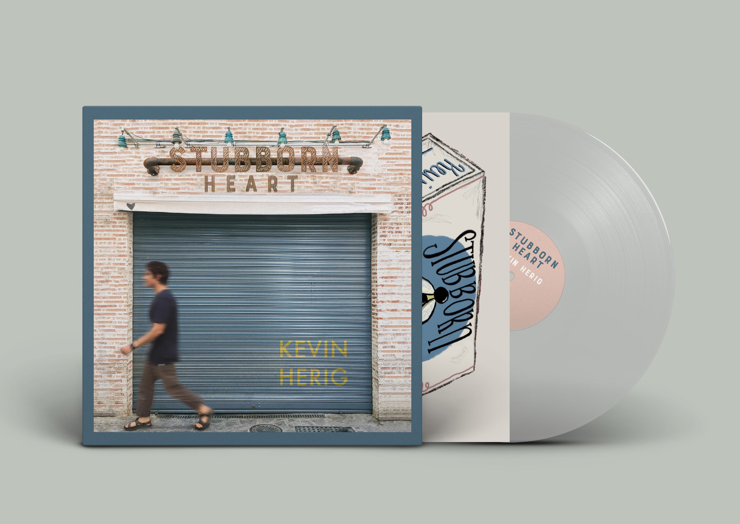 Limited Edition Stubborn Heart Vinyl (Transparent)