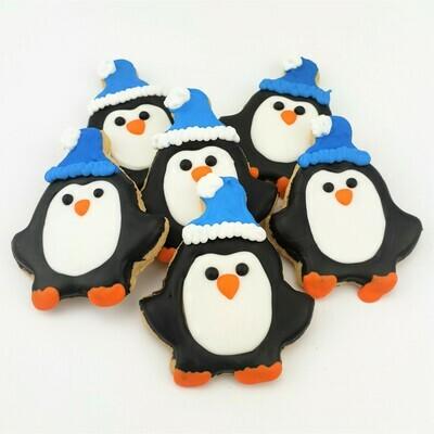 Penguin Sugar Cookies