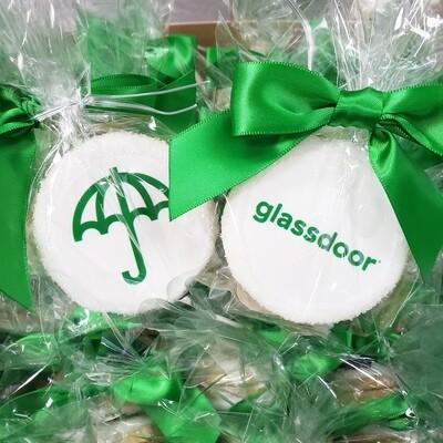 Edible Image Logo Cookies
