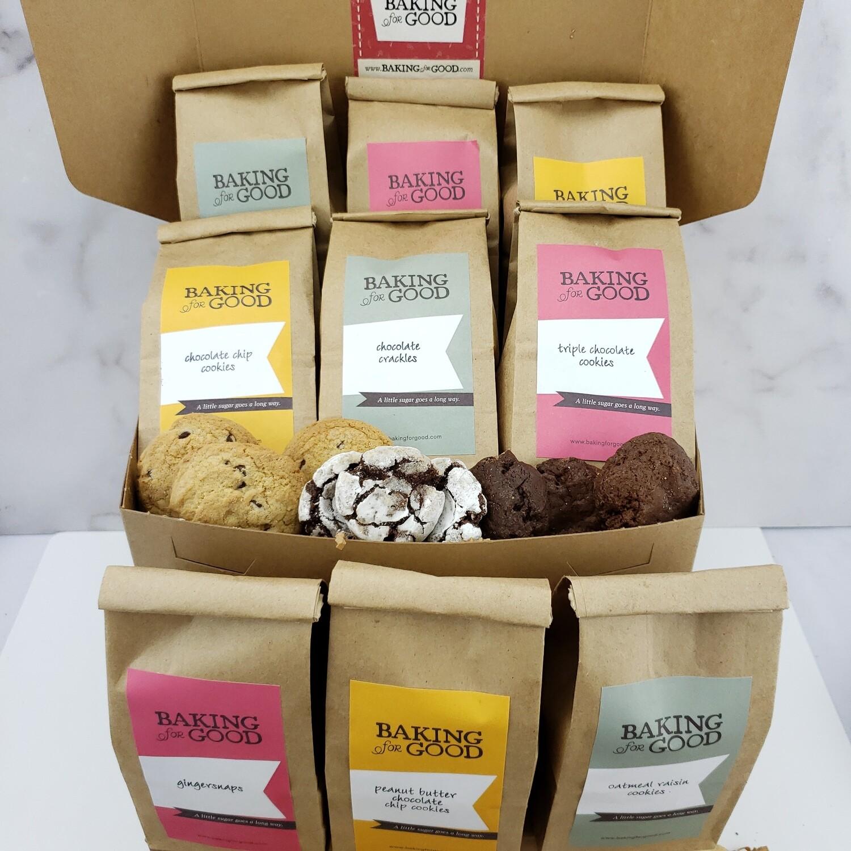 Triple Cookie Sampler Gift Box
