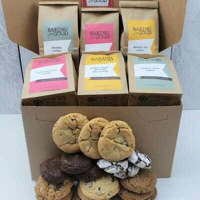 Double Cookie Sampler Gift Box