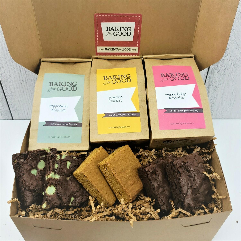 Large Brownie/Bar Sampler