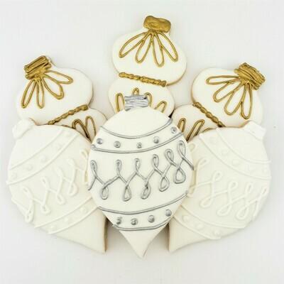 Ornament (Shaped) Sugar Cookies