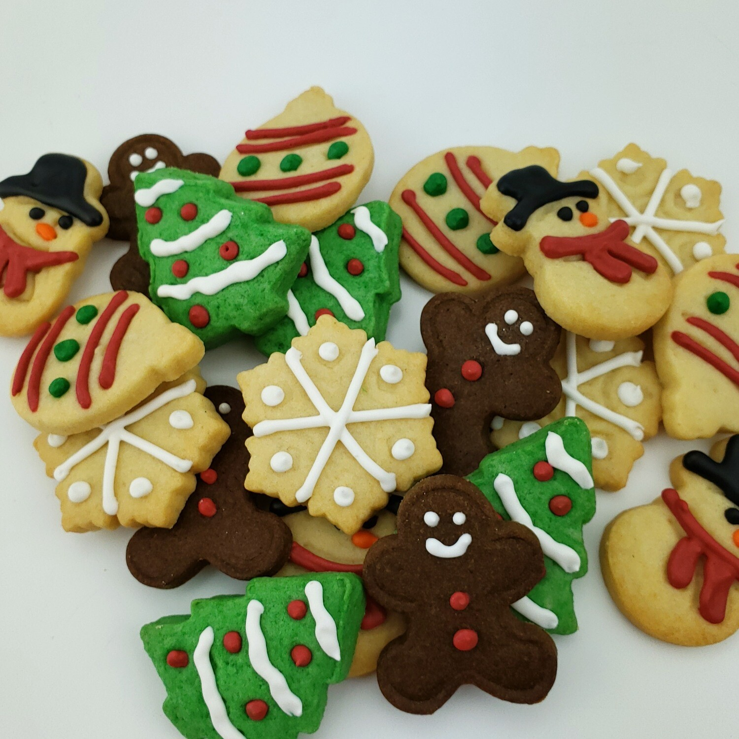 Surprise Bite Sized Holiday Sugar Cookies