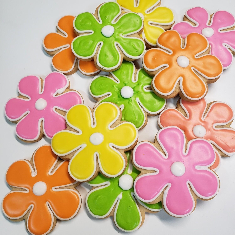 Bright Daisy Sugar Cookies