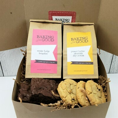 Cookie and Bar Gift Box Options