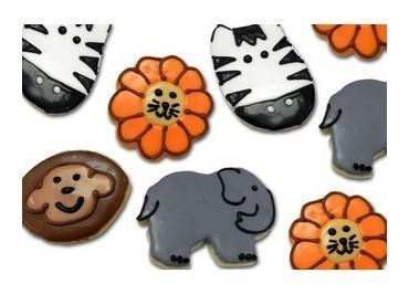 Safari Animal Sugar Cookies