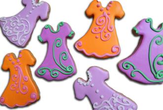 Dress Sugar Cookies