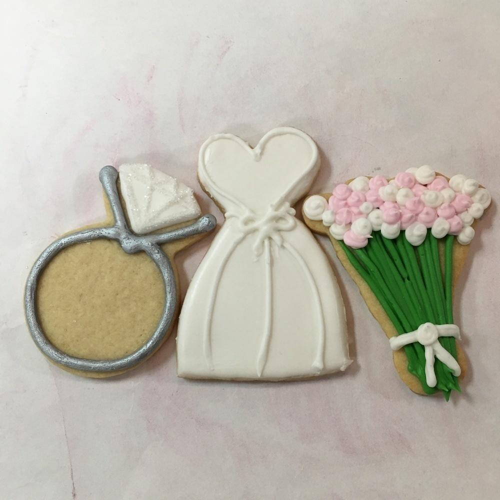 Wedding Shower Sugar Cookies