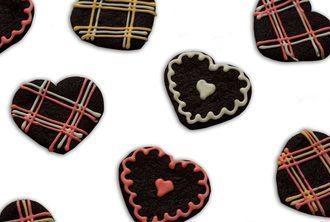 Chocolate Heart Sugar Cookies