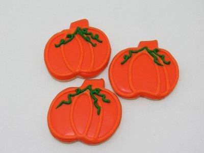 Harvest Pumpkin Sugar Cookies