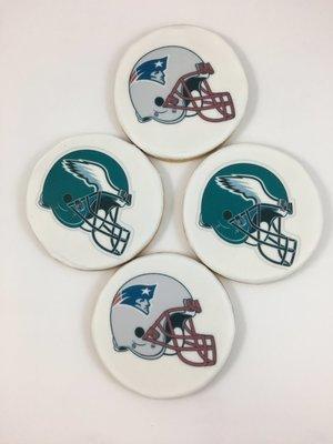 Sports Team Logo Cookies