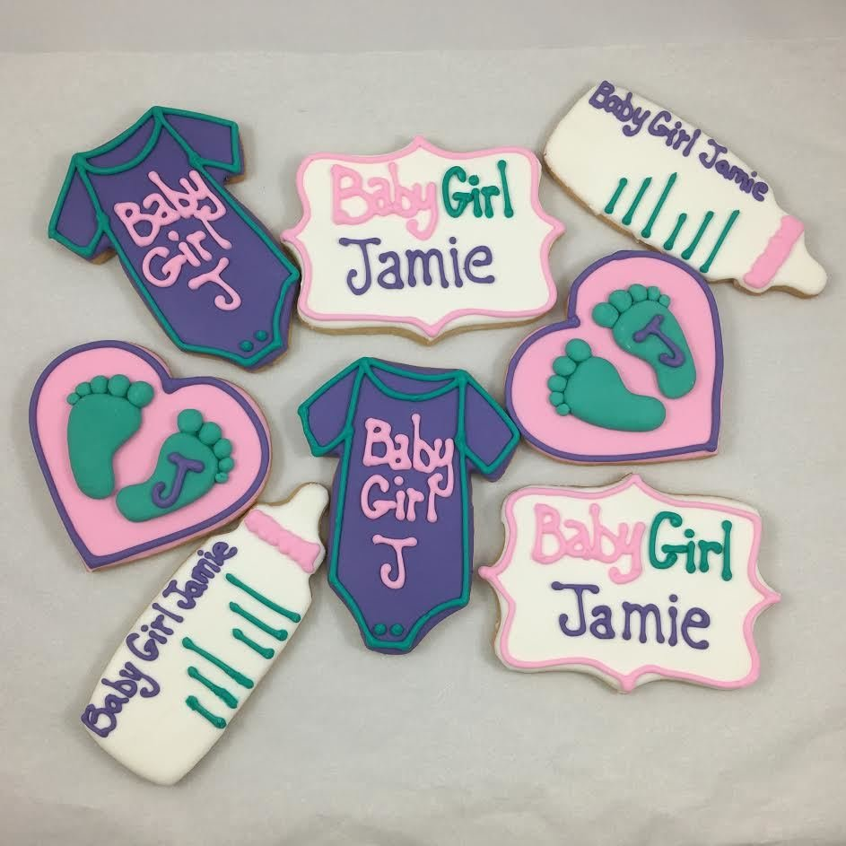 Baby Shower Sugar Cookies (Custom)