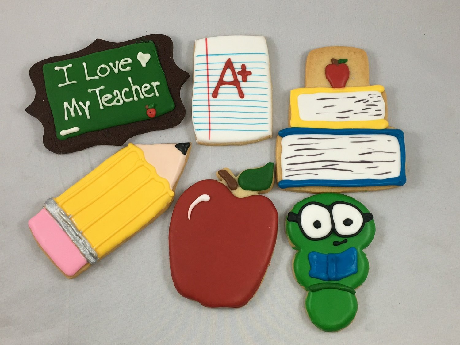 Back to School Iced Sugar Cookies Collection