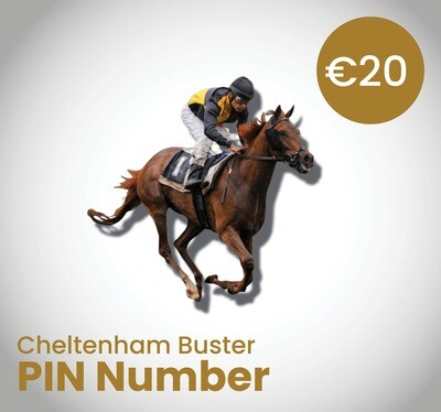 Cheltenham Buster Ticket-PIN Number