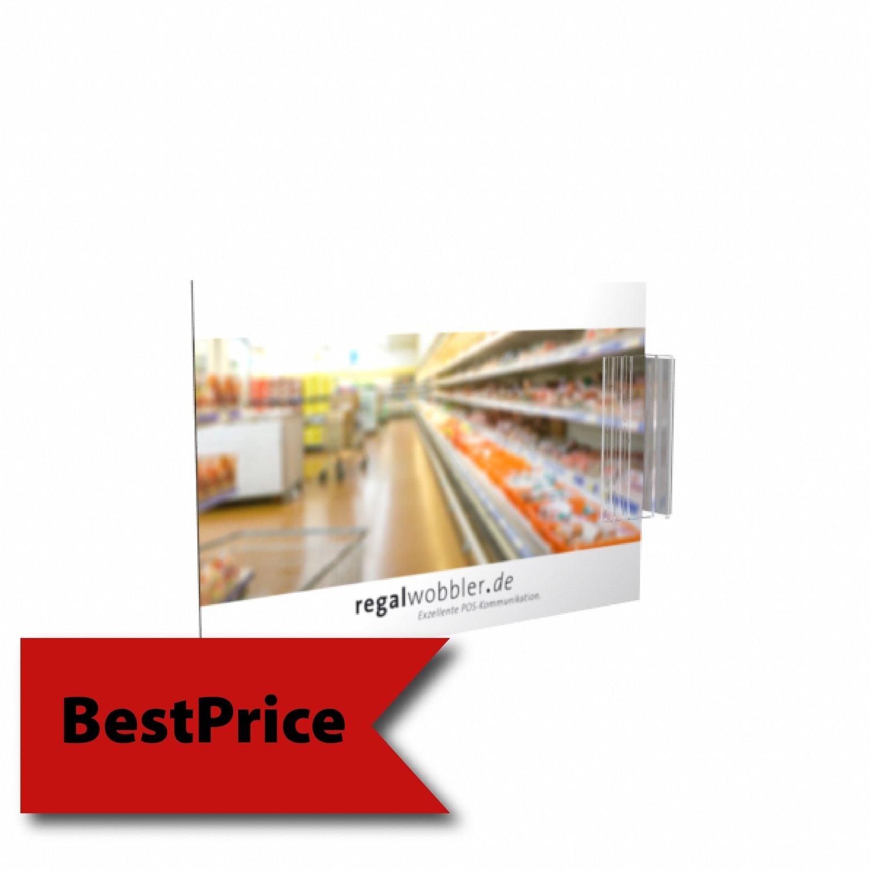 Regalstopper quadratisch (98 x 98) - BestPrice