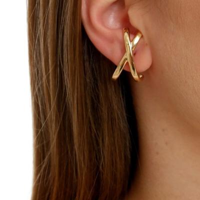Sheila Fajl Crisscross Hug Earrings