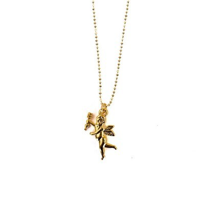 Sheila Fajl Cupid Necklace
