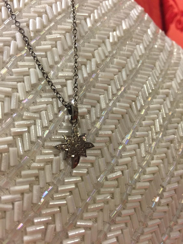 Sheila Fajl Diamond Starfire Necklace