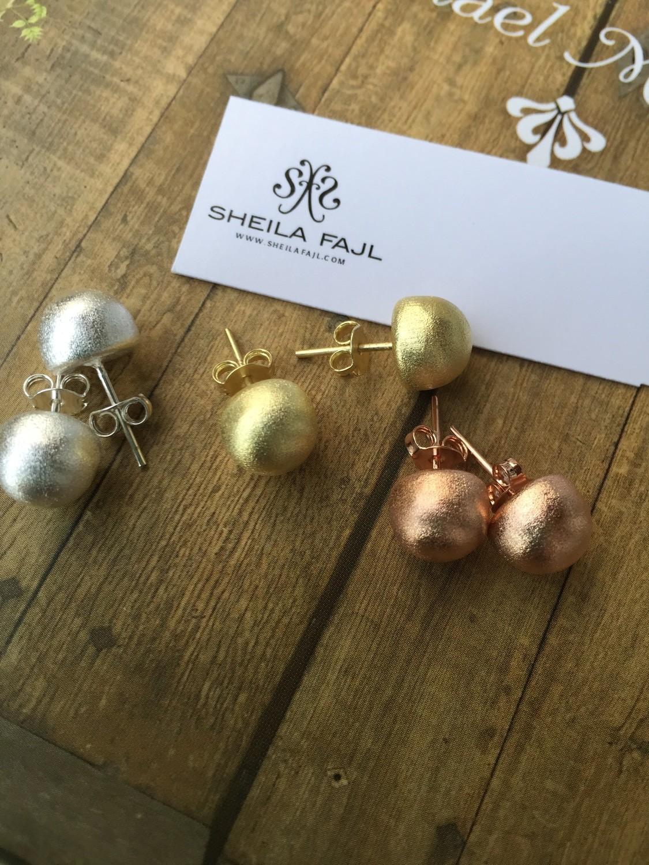 Sheila Fajl Lilou Little Ball Stud Earrings
