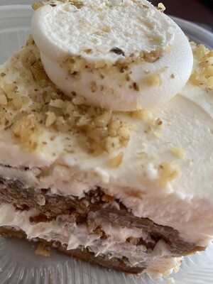 Carrot Cake Slice With Nuts, V, DF