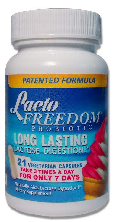Lacto-Freedom Probiotic - 24 Bottles  (RETAILER CASE)