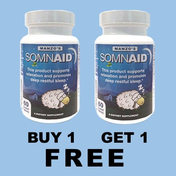 Somnaid Sleep Aid - SALE!  Buy 1 Get 1 FREE!  QTY of 1 = 2 items