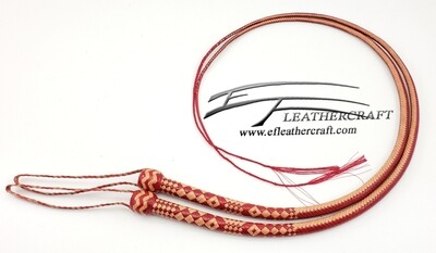 4' Kangaroo Signal Whip 16 Plait - Matching Set