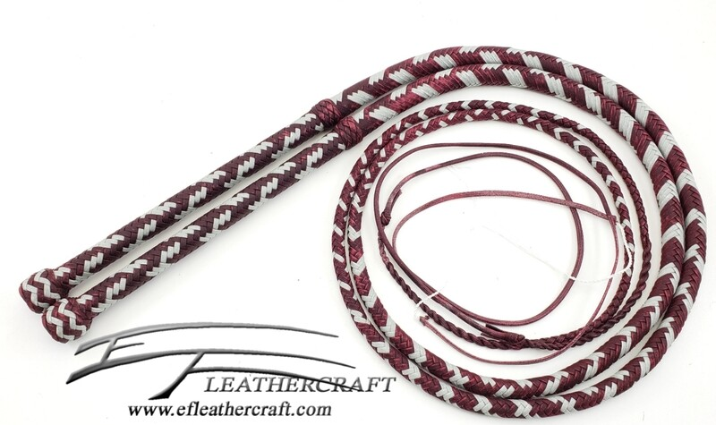 Nylon Bullwhip Matching Set - 6' - 16 Plait