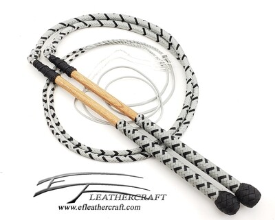 Nylon Stock Whips- 4' - MATCHING SET