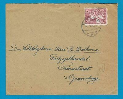 NEDERLAND brief 1946 Loon op Zand