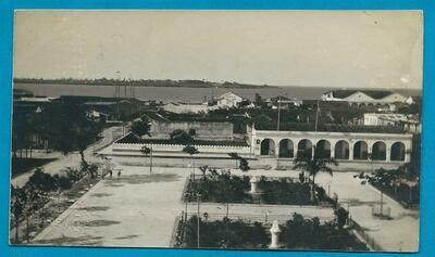 CUBA illustrated postal card M. Martinero Otero Hotel
