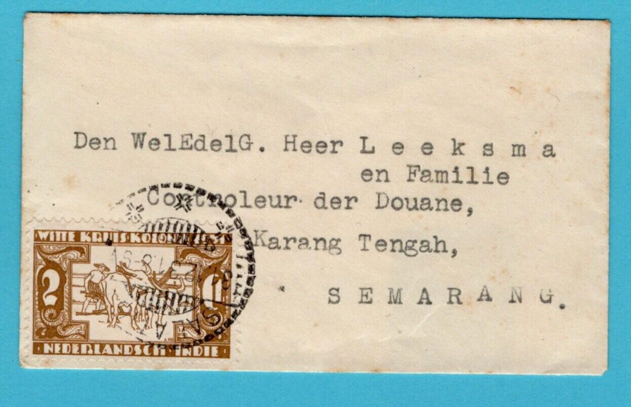 NETHERLANDS EAST INDIES printed matter 1931 Salatiga