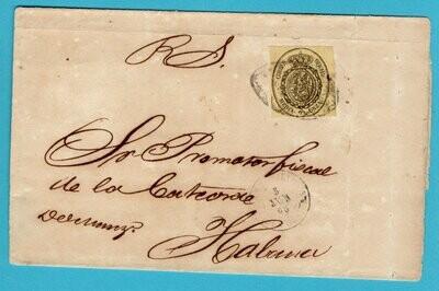 CUBA part of official document 1868