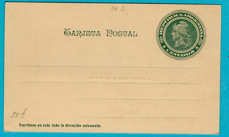ARGENTINA illustrated postal card Arroyo Aurifero **