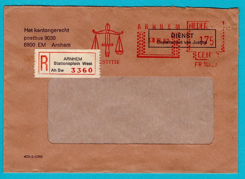 NEDERLAND R brief 1982 Arnhem gerechtshof