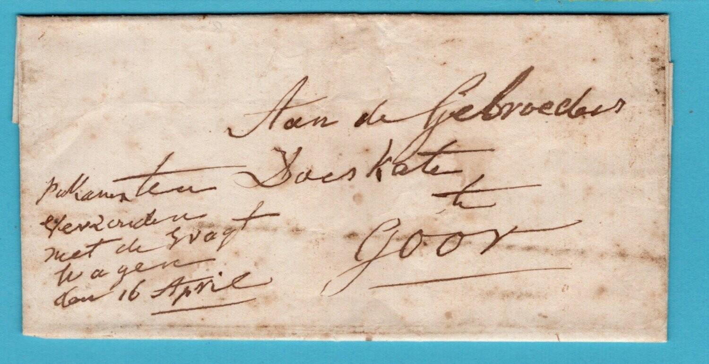 NEDERLAND brief 1858 Deventer