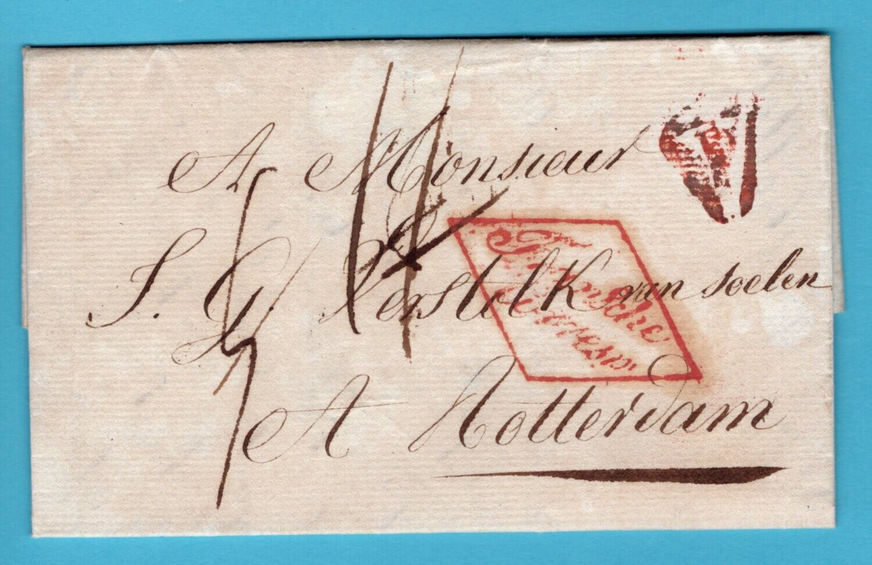FRANKRIJK brief 1819 Parijs