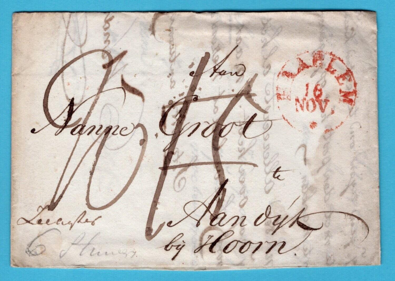 NEDERLAND brief 1830 Haarlem met