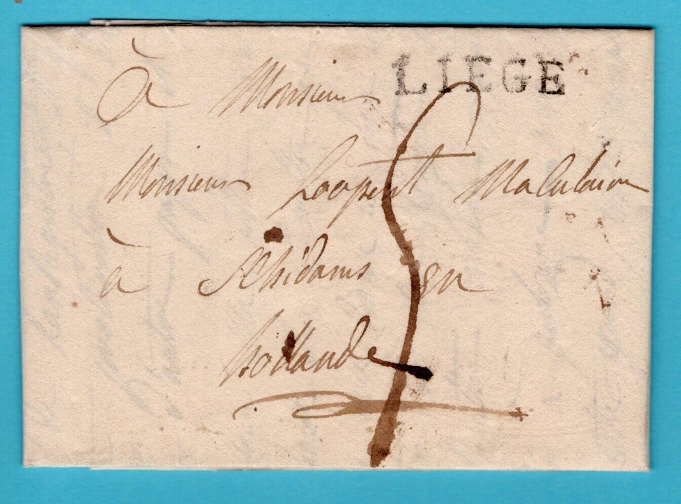 NEDERLAND brief 1816 met