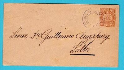 BOLIVIA wrapper 1901 Tupiza to Salta